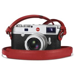 Leica Neck strap, red