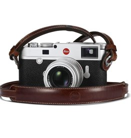 Strap: Vintage Brown Leather w/ Neck Pad