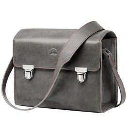 Leica System Bag, Size S, Leather Stone Grey
