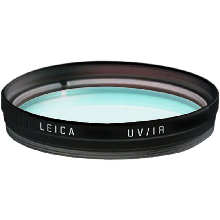 Filter - E49 UVa/IR Filter Black