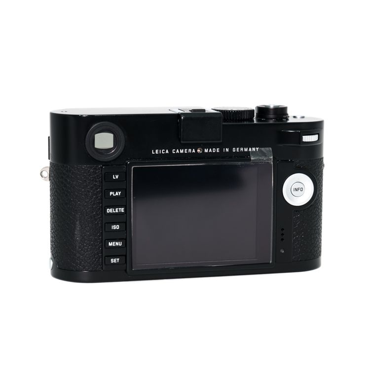 P80-38 M (Typ 240) Black w/ Battery, Battery Charger, Booklets, Boxes, and Strap S/N 04702474