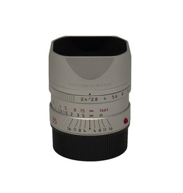 P80-36 35mm Summarit 2.4 Silver Anodized Finish (S/N 4319738)