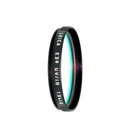 P80-57 Leica E39 UV/IR Filter Black (13410)