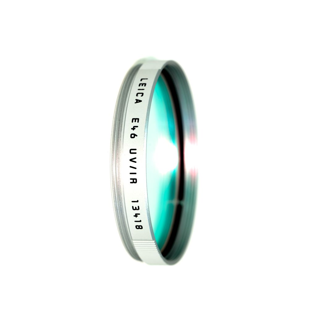 P80-57 Leica E46 UV/IR Silver Filter (13418)