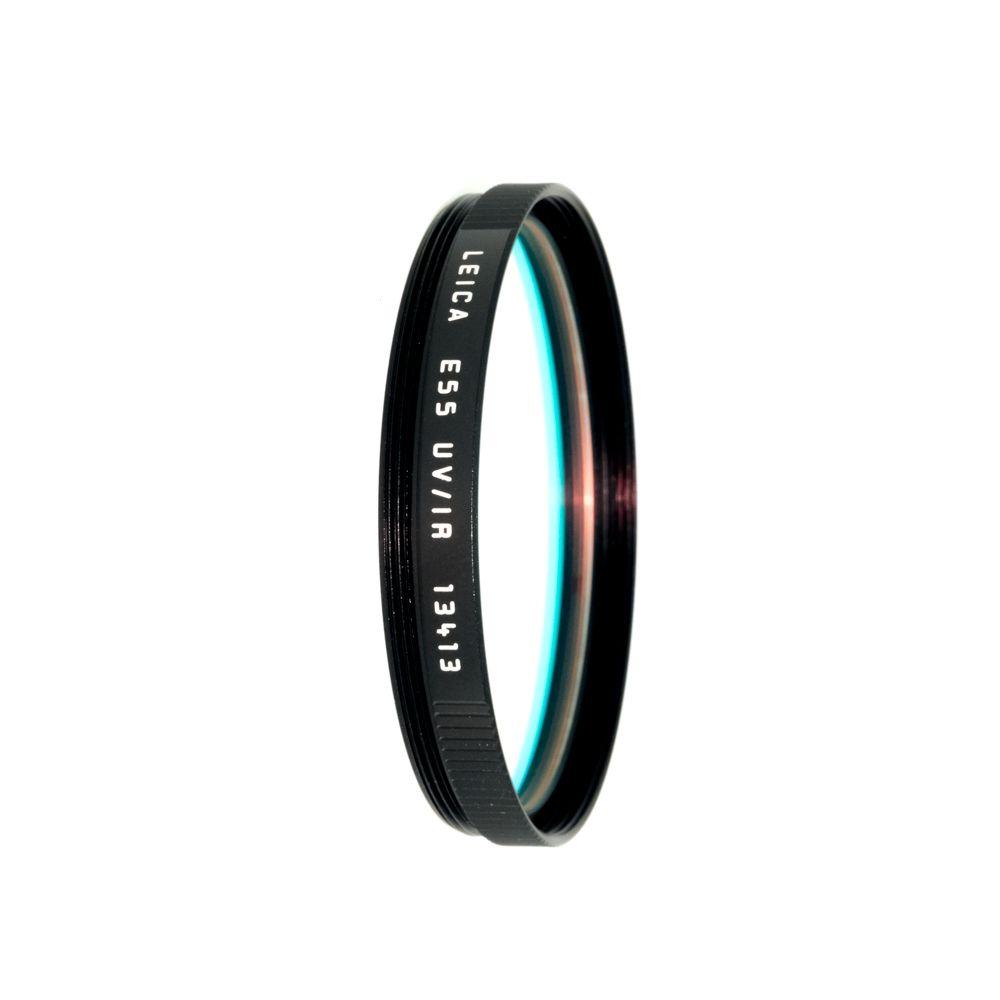 P80-57 Leica E55 UV/IR Filter Black (13413)