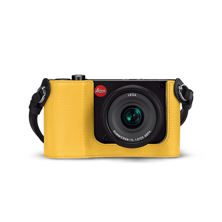Camera Protector Leather Yellow (TL)