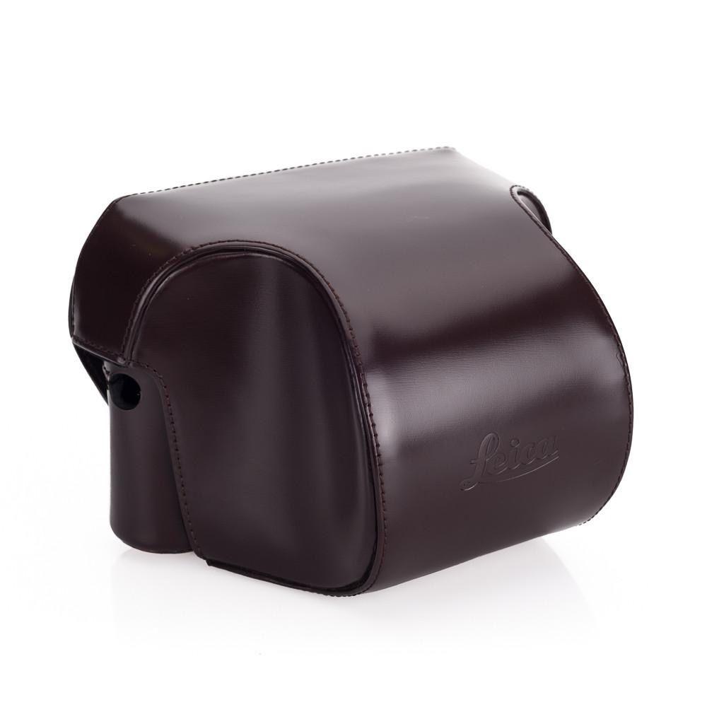 Case - Ever Ready Dark Brown Box Calf Leather