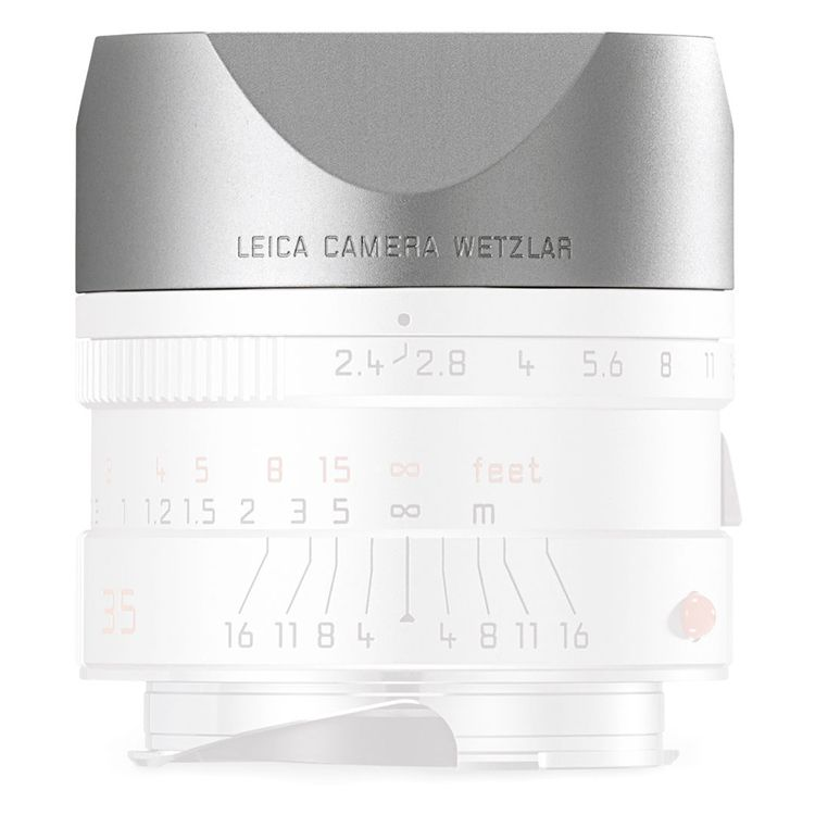 Lens Hood - 35mm f/2.4, 50mm f/2.4 Silver