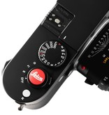 Soft Release Button 'Leica' 12mm Red
