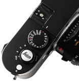 Soft Release Button: 'Leica' 12mm Chrome