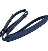 Strap: Full Grain Cowhide Dark Blue w/ Neck Pad
