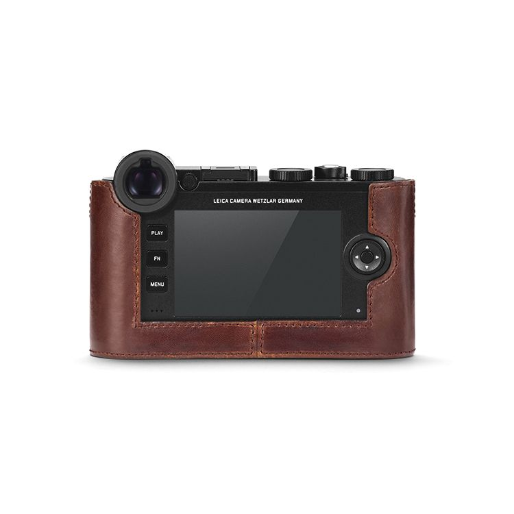 Camera Protector - Brown Leather CL