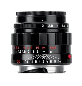 LHSA 50mm / f2.0 APO ASPH Summicron Black Paint (E39) (M)