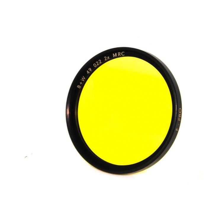 P80-57 B+W 49mm Yellow MRC