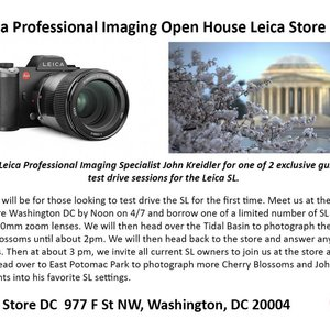 4/7: leica professional imaging open house