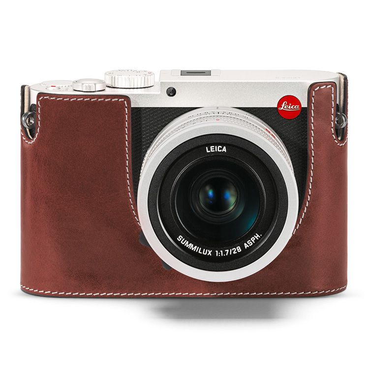 Camera Protector - Leather Vintage Brown Q (Typ 116)