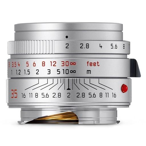 CPO: 35mm / f2.0 ASPH Summicron Silver (E39) (M) (2016+) 1 Year Warranty