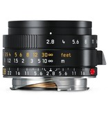 CPO: 28mm / f2.8 ASPH Elmarit Black (E39) (M) 1 Year Warranty