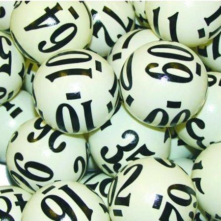 6 Sided Raffle Balls 1-80