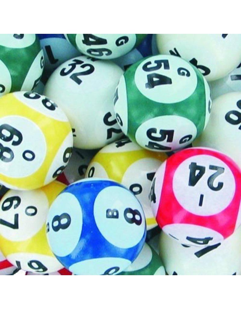 5 Color Six Sided Bingo Balls