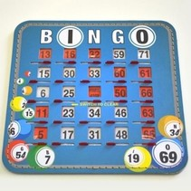 Bingo Slide Cards