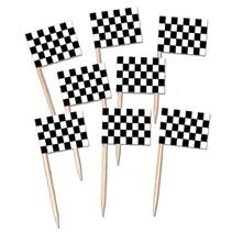 Flag Picks Checkered 50 ct