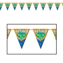 Retirement Pennant Banner