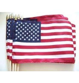 """12""""x18"""" US FLAG W/SPEAR"""