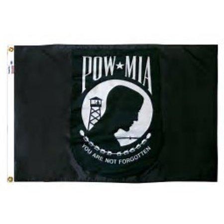 4' X 6' POW MIA FLAG