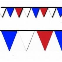 100' R-W-B PENNANT FLAGS