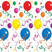 Balloon and Confetti Backdrop Insta Theme