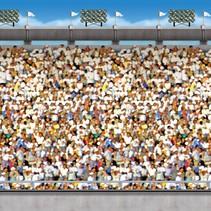 Upper Deck Stadium Backdrop