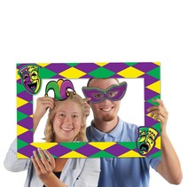 Mardi Gras Photo Fun Frame and Props