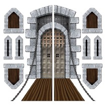 Castle Door & Window Props