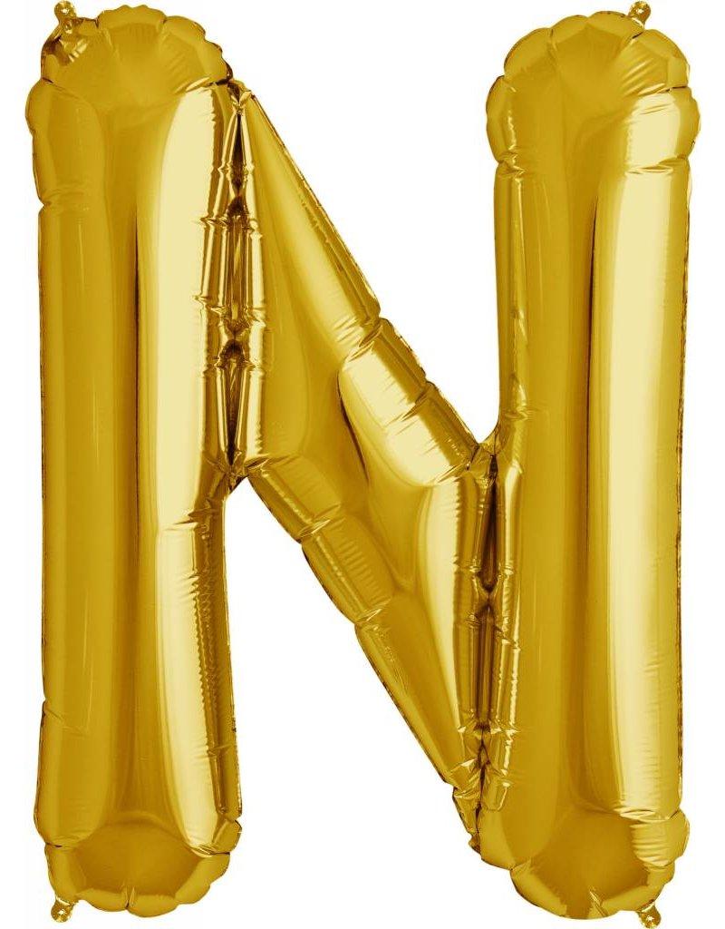 """34"""" Gold Foil N Balloon"""