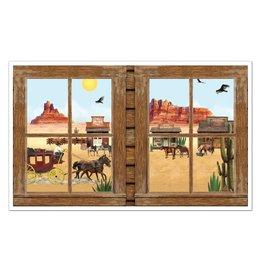 Western Window Prop Insta Theme