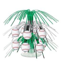 Baseball Mini Cascade Centerpiece