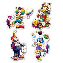 Clown Cutouts