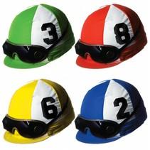 Jockey Helmet Cutouts