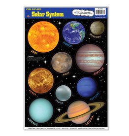 Solar System Peel 'n Place