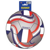 France Soccer Cutout