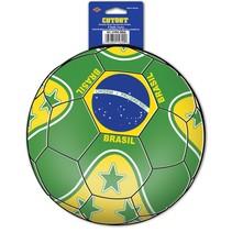 Brasil Soccer Cutout