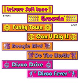 Disco Street Signs