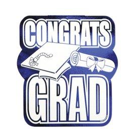 Congrats Grad Foil Cutout