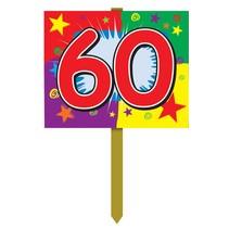 60 Birthday Yard Sign