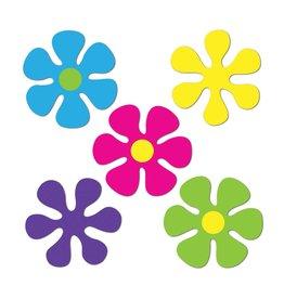 Mini Retro Flower Cutouts