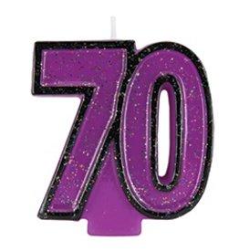 70 Glitter Candle