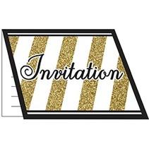 Black & Gold Invitations