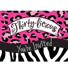 Thirtylicious Invitations
