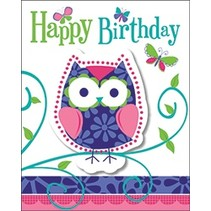 Owl Pal Invitations